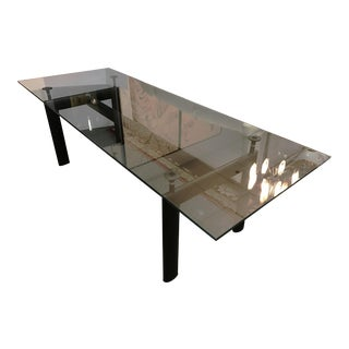 1970s Modern Le Corbusier Lc6 Dining Table for Cassina For Sale