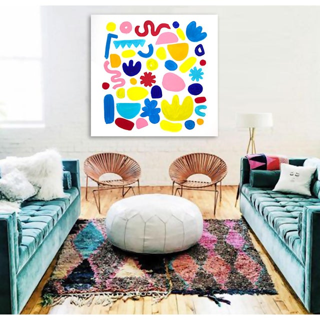 Abstract 'Jubilation' Original Abstract Painting by Linnea Heide For Sale - Image 3 of 8