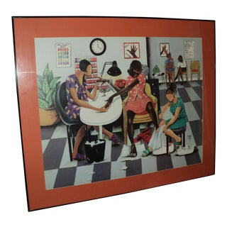 African American Art Annie Lee Lithograph Poster