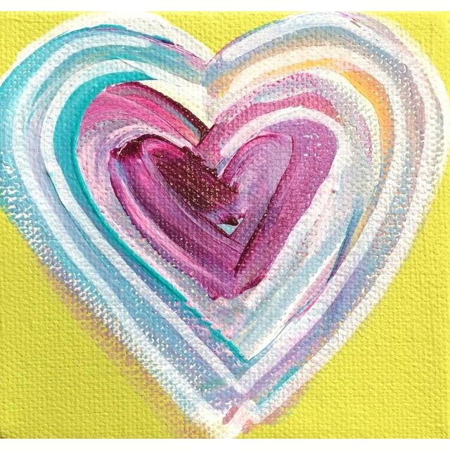 'Tropical Heart' Original Painting by Linnea Heide - Image 1 of 4