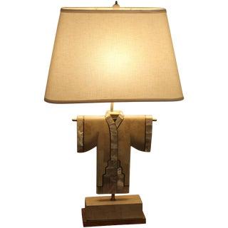 1980s Modern Kimono Lamp For Sale