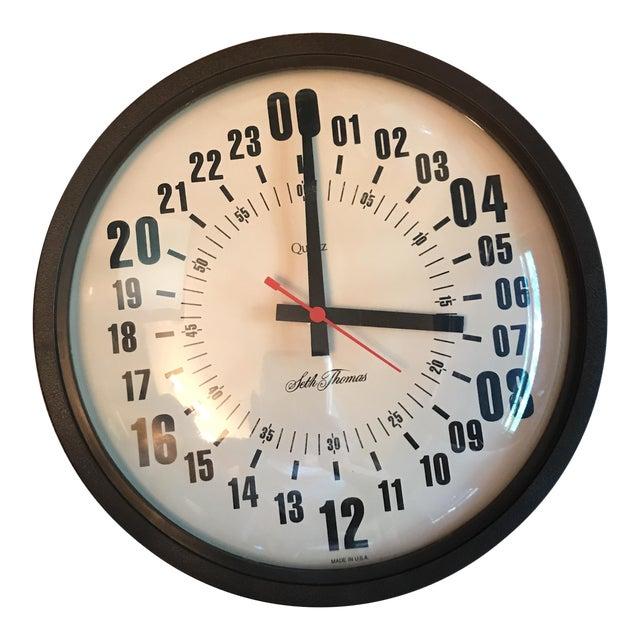 Vintage Seth Thomas Military Hour Clock For Sale