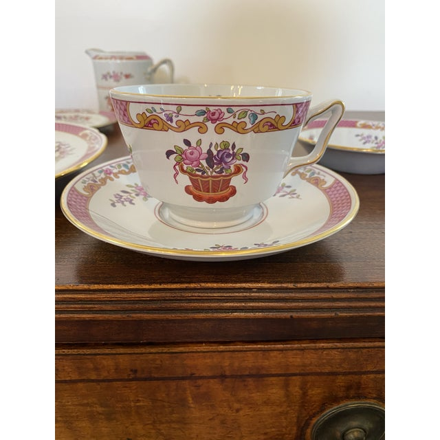 Spode China Lord Calvert Pattern Service for 8 Dinnerware - 60 Piece Set For Sale In Washington DC - Image 6 of 12