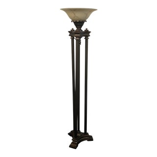 Bronze Torchiere Lighting For Sale