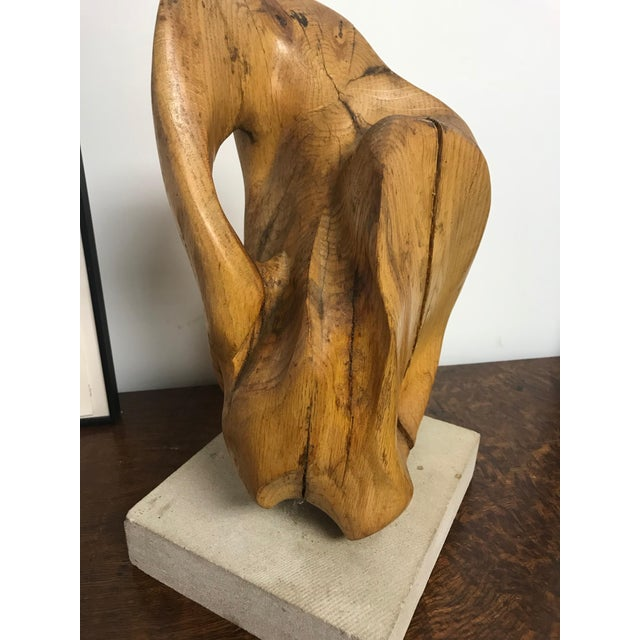 Abstract 1960s Vintage Abstract Sculpture For Sale - Image 3 of 8