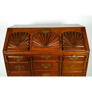 Early 19th Century Mahogany Wood Drop-Front Writing Desk Preview