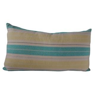 Custom Striped Lumbar Pillow Cover