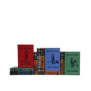 Junior Classics - Set of Ten Decorative Books For Sale