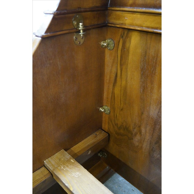 Guido Zichele French Empire Queen Sleigh Bed For Sale - Image 5 of 10