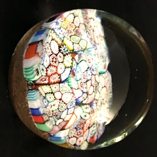Vintage Murano Art Glass Millefiori Paper Weight - Image 2 of 10