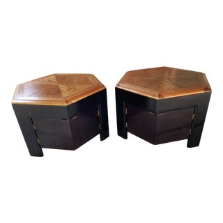 Mid Century Modern Style Lane Side Tables - a Pair For Sale