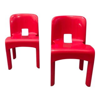 Pair of Joe Colombo Chairs For Sale