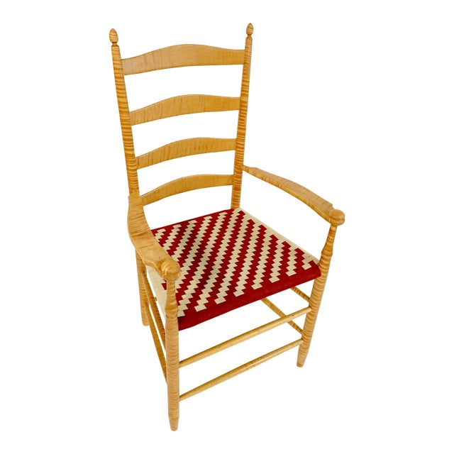 Reproduction Shaker Arm Chair - Image 1 of 8