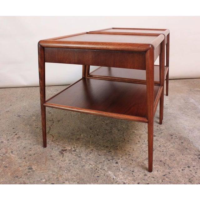 Pair of T. H. Robsjohn-Gibbings Single Drawer End Tables - Image 9 of 10