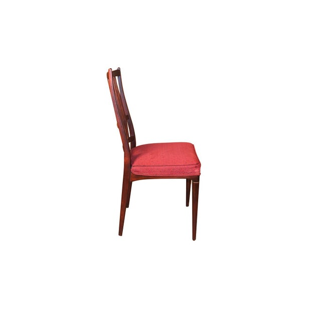 Seffle Möbelfabrik 6 Svante Skogh Rosewood Cortina Dining Chairs For Sale - Image 4 of 13
