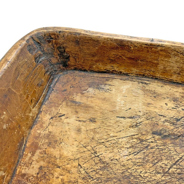 19th Century Carved Wood Tray For Sale In Chicago - Image 6 of 10