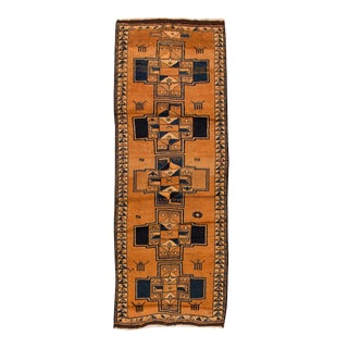 """Mid-20th Century Vintage Oushak Rug, 4'9"""" X 12' For Sale"""