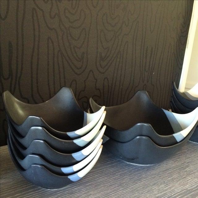 Ceramic Bowl Set - Set of 12 - Image 6 of 10