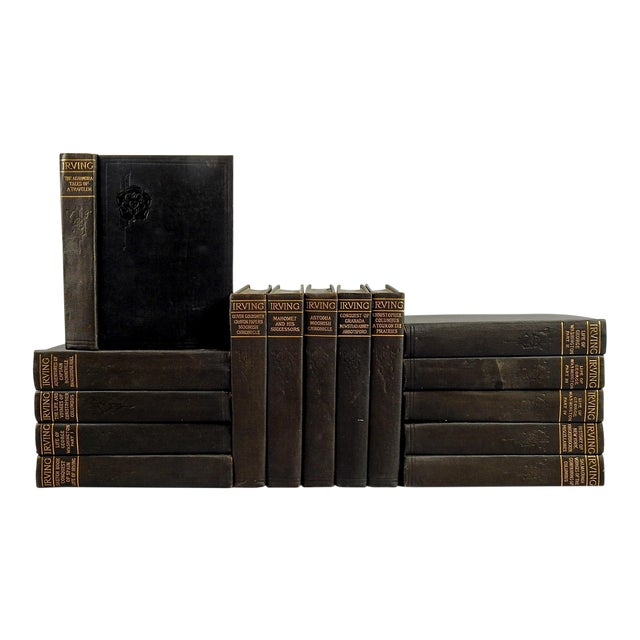 Works of Washington Irving Books - Set of 15 For Sale