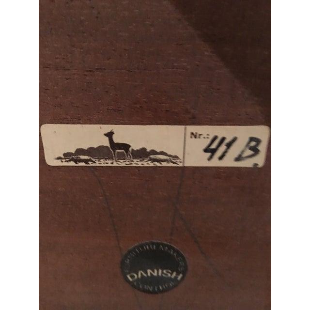 Vintage Danish Midcentury Rosewood Side Tables - 2 - Image 5 of 5