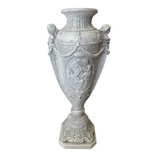 Ornate Neoclassical Urn For Sale