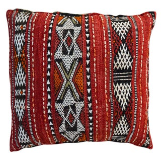 Berber Moroccan Pillow For Sale