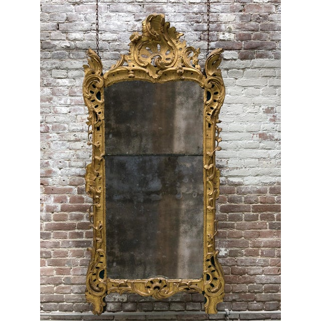 18th Century Louis XV Mirror For Sale - Image 10 of 11