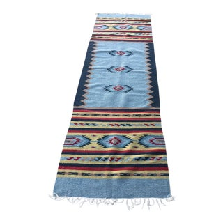 1960's Vintage Zapotec Weaving Rug For Sale