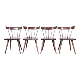 Paul McCobb Newly Refinished Planner Group Dining Chairs, Set of Four For Sale