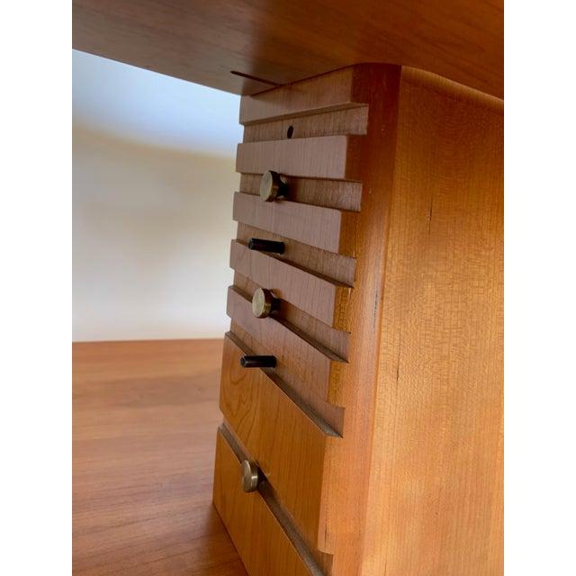 Aksel Kjesgaard of Denmark Teak Mid-Century Adjustable Desk on Casters For Sale - Image 11 of 12