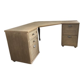 Pottery Barn Corner Desk For Sale