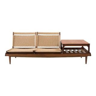 1960s Vintage Hans Olsen Modular Seating Set- 4 Pieces For Sale