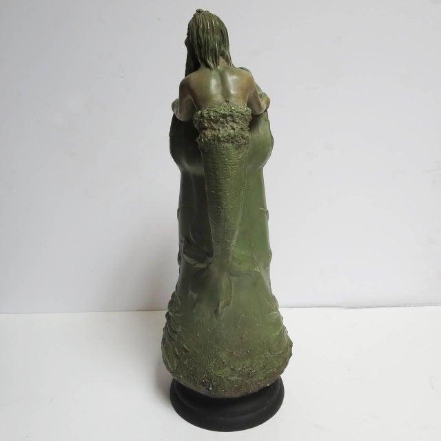 """Art Nouveau Art Nouveau Ceramic """"Merman"""" Pitcher For Sale - Image 3 of 6"""