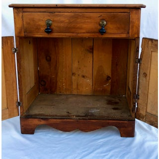 Antique Rustic Wood Cabinet Preview