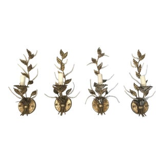 "Fine Art Collection ""A Midsummer Night's Dream"" Light Sconces - Set of 4 For Sale"