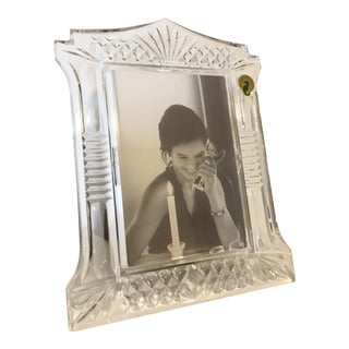 2000s Waterford Abbeville Crystal Frame For Sale