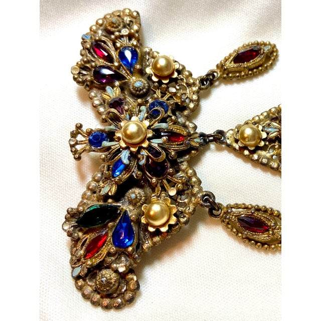 1940s 1940s Thief of Bagdad Jeweled Brooch For Sale - Image 5 of 9