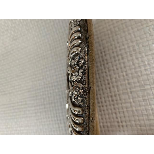 1900's Art Nouveau Oval Sterling Frame For Sale In New York - Image 6 of 7