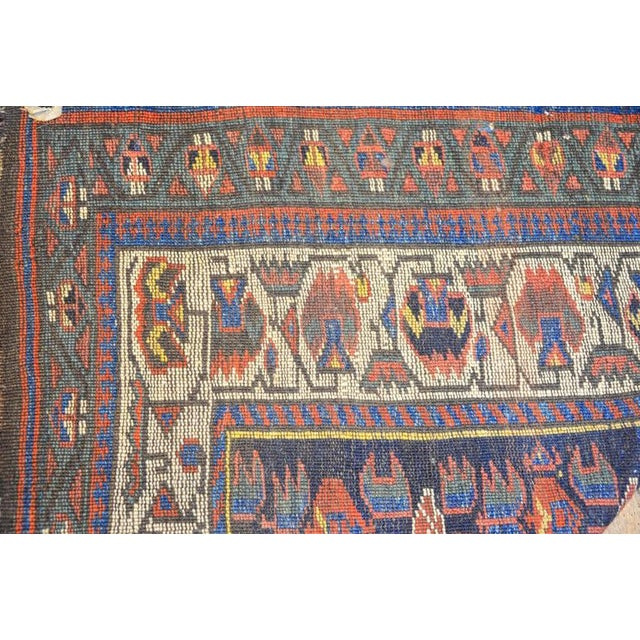 Early 20th Century Kurdish Runner Rug - 3′3″ × 9′6″ For Sale - Image 5 of 6