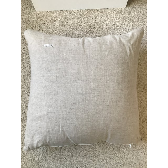 Black and White Mud Cloth Pillow - Image 3 of 6