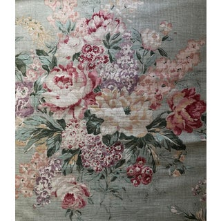 Shabby Chic Ralph Lauren Floral Fabric - 3/4 Yard For Sale