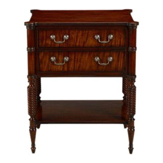 Ethan Allen 2 Drawer Nightstand For Sale