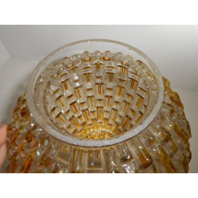 Mid Century Honeycomb Ceiling Light Shade Lamp - Image 6 of 7