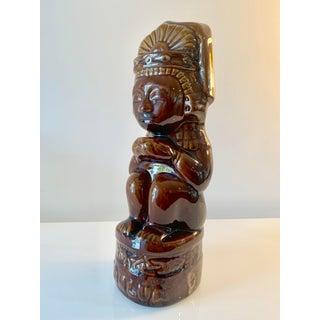 1950s Tiki Style Vintage Kahlúa Bottle Preview