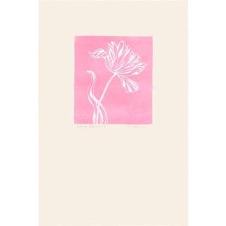 """Groovy Flowers I"", Original Etching by Anita Klebanoff For Sale"