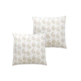 Brooklyn - Cobblestone Pillowcases - a Pair For Sale