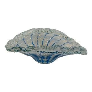 "Large Millefiori ""Jellyfish"" Art Glass Centerpiece Bowl For Sale"