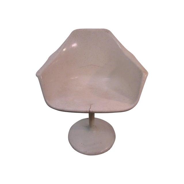 Mid Century Modern Eero Saarinen Tulip Base Chair - Image 1 of 11
