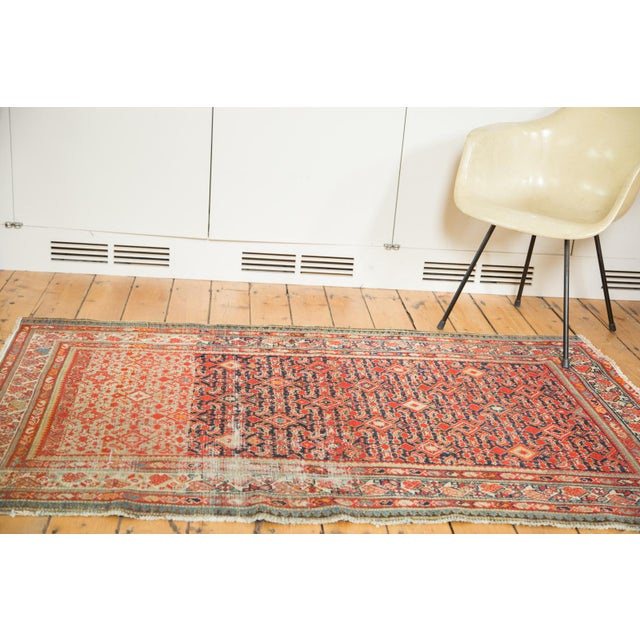"Distressed Antique Malayer Rug - 4'1"" X 6' - Image 2 of 8"