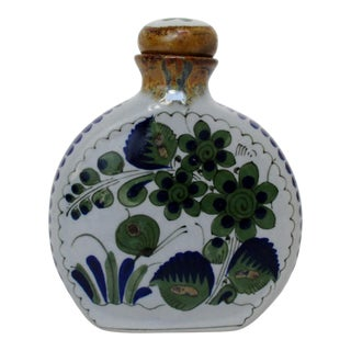 Mexican Ceramic Bottle For Sale